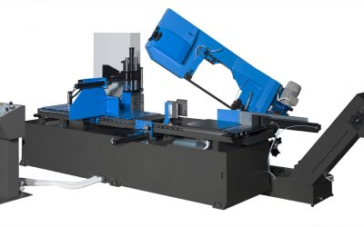 Sierra de cinta FAT 61.41 A DI CNC 3R: para el corte de grandes dimensiones