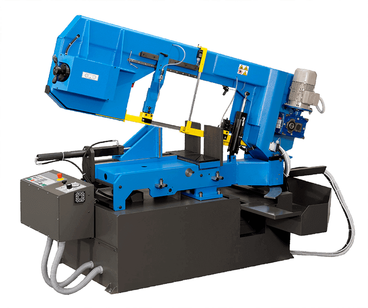 Sierra de cinta FAT 61.41 SA DI MD: una máquina versátil para el corte de estructuras