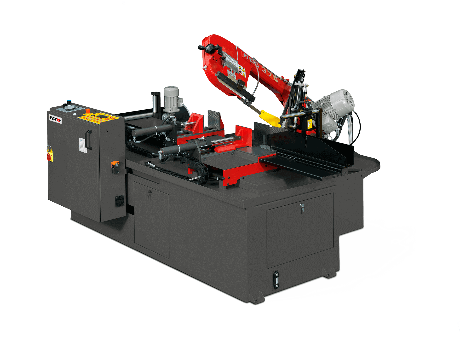 La sierra de corte FAT 370 A DI CNC 1R, una de las principales referencias de nuestro catálogo