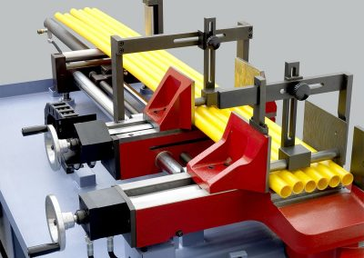Mechanical bundle clamping device