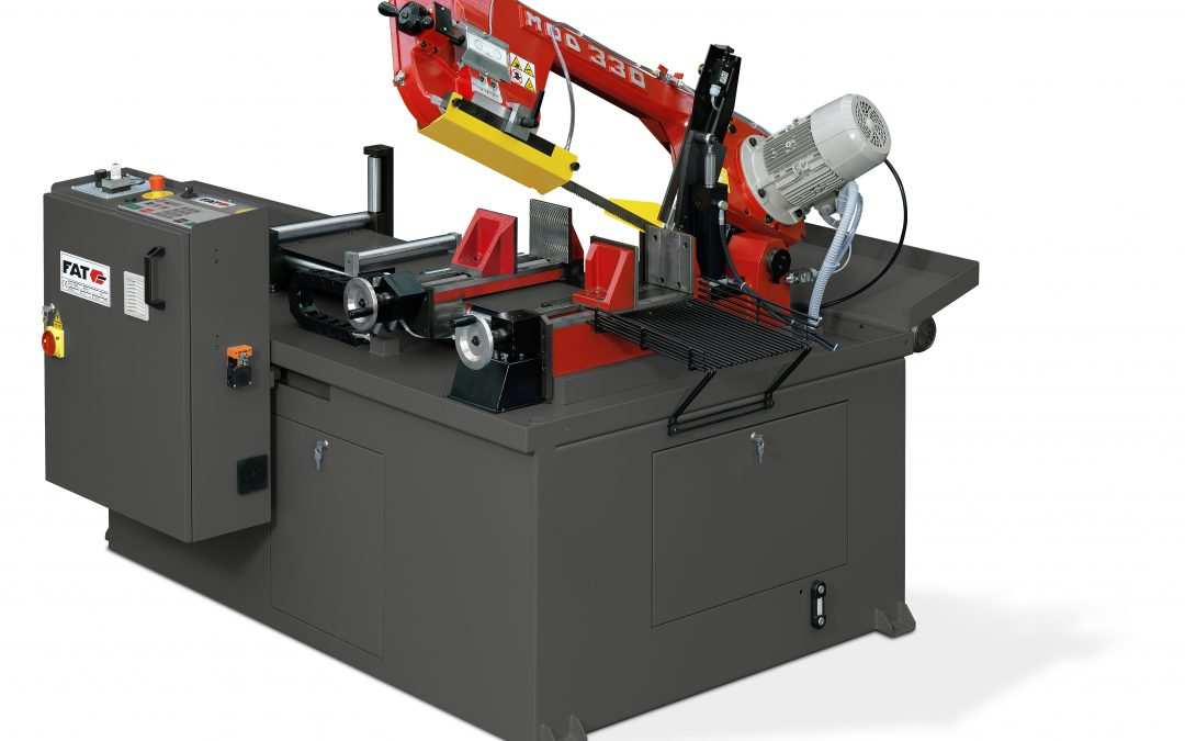 FAT 330 AFE CNC: el rediseño de la sierra automática asequible de FAT